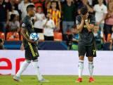 Ronaldo in tranen na rood in Valencia