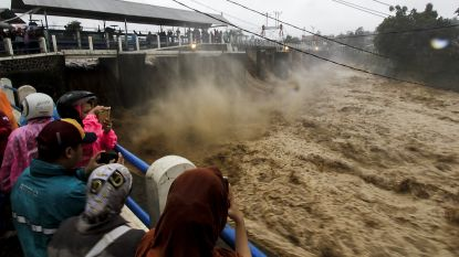 Watergeweld op Java