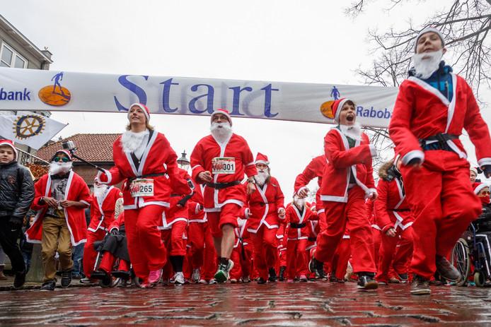 De eerste Santarun in Zevenbergen was in 2013. De run staat dit jaar op het programma van het nieuwe evenement Winterwonderland.