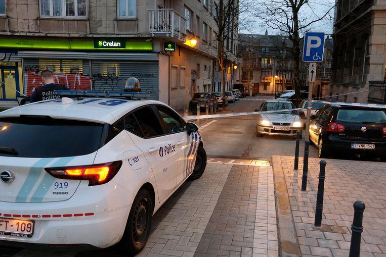 Schietpartij in Sint-Gillis: Perimeter in César Depaepestraat.
