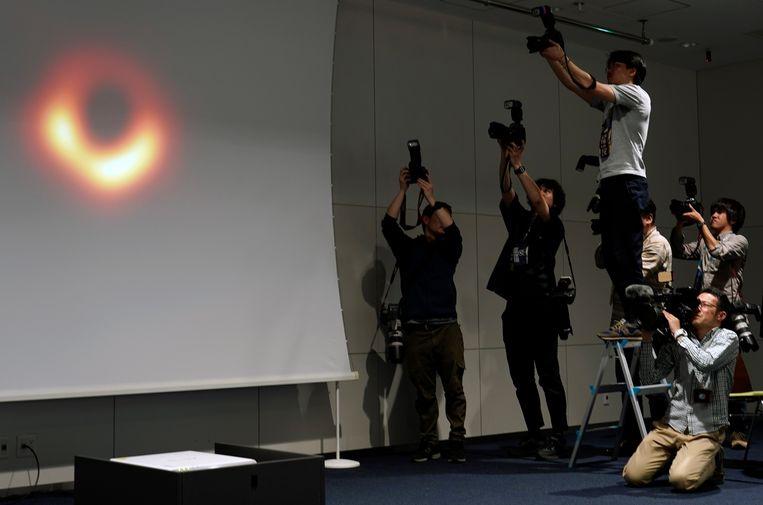 In april werd de eerste foto van een zwart gat gepresenteerd. Beeld null