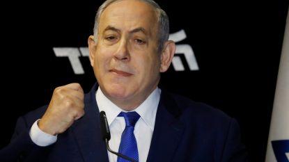 Van corruptie beschuldigde Israëlische premier stelt zijn politieke dood weer eventjes uit