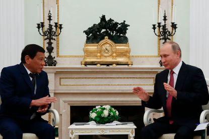 Duterte vraagt Rusland om wapendeal