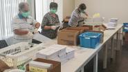 """Verdeling van mondmaskers volop op gang in Kruisem: """"Dankzij grote inzet van vrijwilligers is zaterdag iedereen bediend"""""""