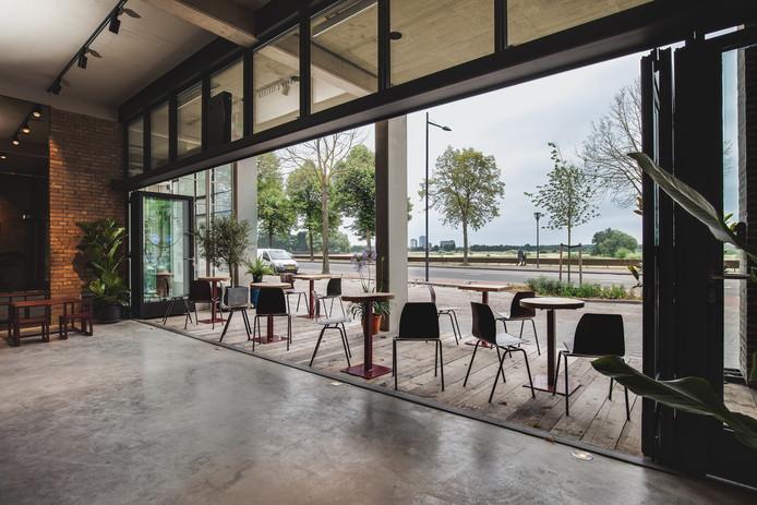 Garage Den Bosch : Horecanieuws: pure gerechten en uitzicht op het bossche broek op het
