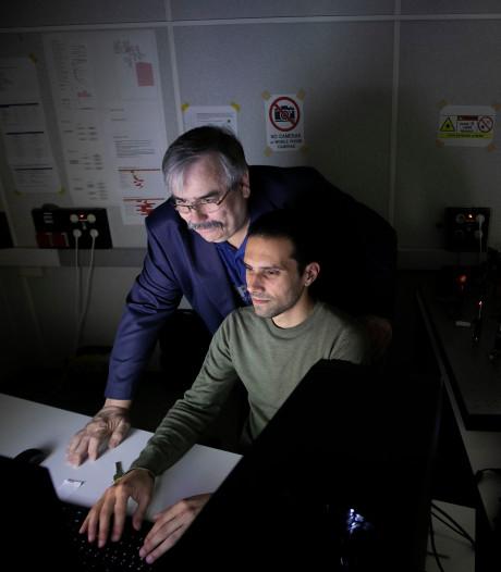 Aircision in Eindhoven wil bij 5G test lasers als datakabels door de lucht sturen