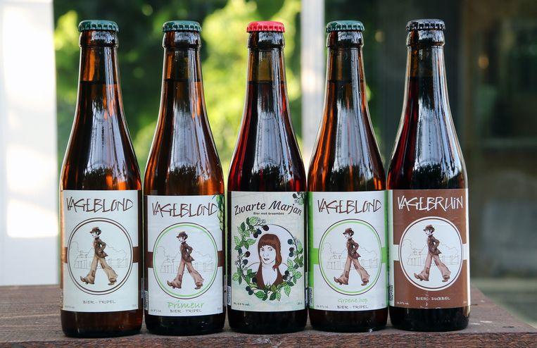 Zo zien de flesjes van brouwerij Vagebond eruit.