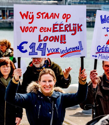 FNV: 'Minimumloon moet omhoog naar 14 euro'