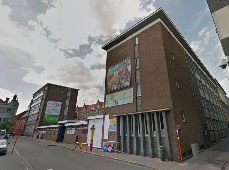Ook op het Polenplein verdwijnt de campus van het VISO.