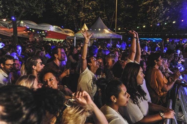 Het Jordaanfestival tijdens een eerdere editie Beeld Jordaanfestival