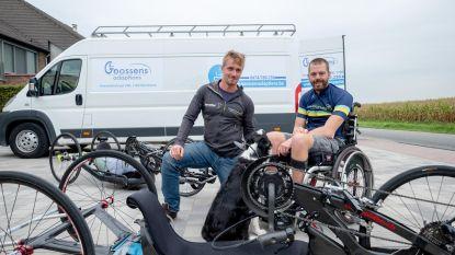 1.246 km met handbike in 4 weken
