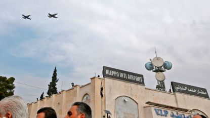 Luchthaven Aleppo na acht jaar heropend
