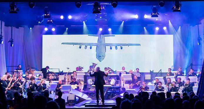 Voor het concert van het orkest van de Koninklijke Luchtmacht zijn niet veel kaarten meer verkrijgbaar.