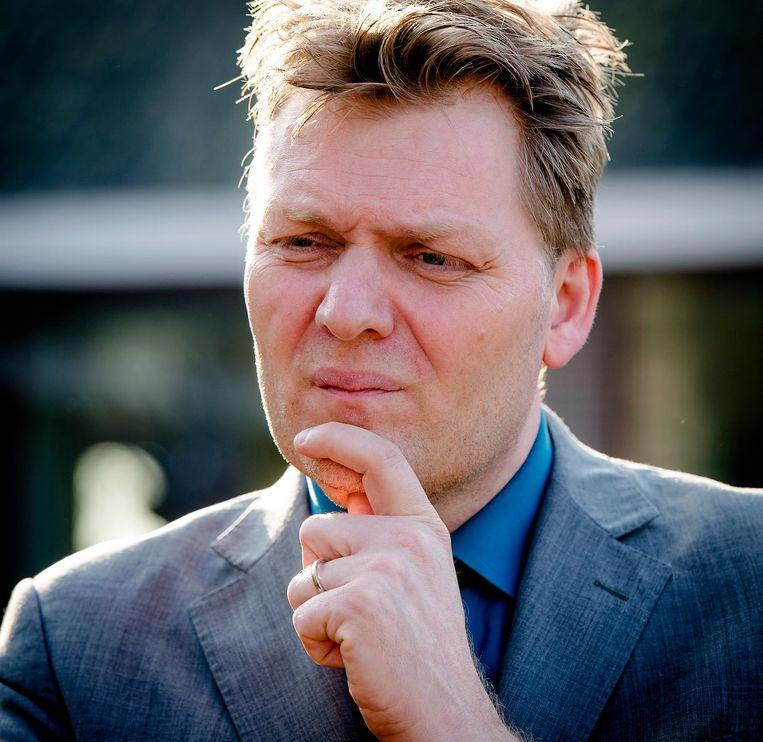 Burgemeester Jan Hamming van Zaanstad. Beeld ANP
