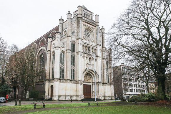De Sint-Annakerk in Gent.