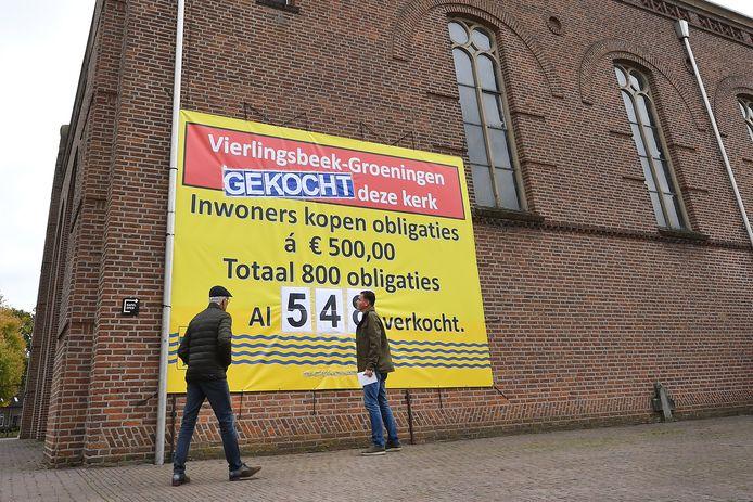 De kerk van Vierlingsbeek is verkocht.