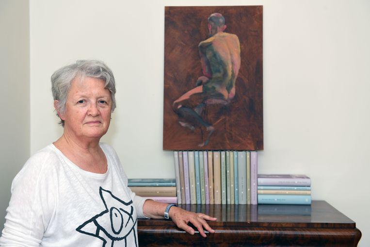Irena Degryse (71) uit Holsbeek heeft zichzelf tussen de allergrootste meesters der aarde geschilderd. Haar zelfportret in olieverf hangt in het Rijksmuseum van Amsterdam. Haar werk werd gekozen uit 8.000 inzendingen uit 95 landen.