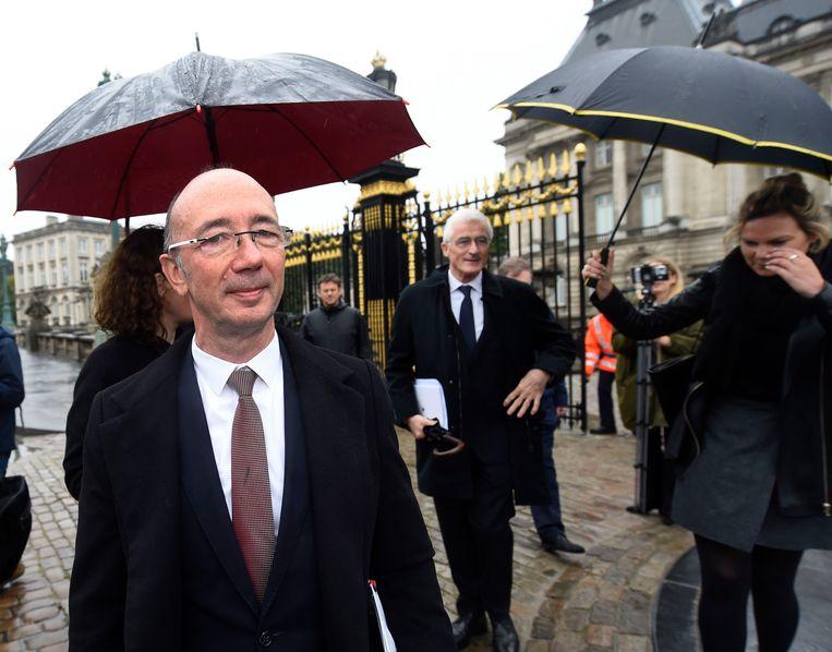 Rudy Demotte gaf maandag zijn opdracht met Geert Bourgeois terug aan de koning.