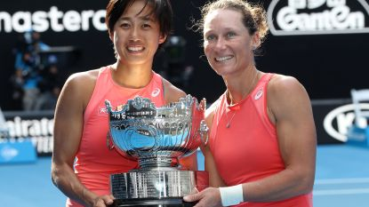 Stosur en Zhang winnen vrouwendubbel in Melbourne