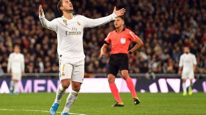Dartele Hazard en sterke Courtois: Real Madrid 'Made in Belgium' klopt Sociedad