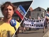 Mars tegen coronamaatregelen in Middelburg: 'Het klopt allemaal niet'