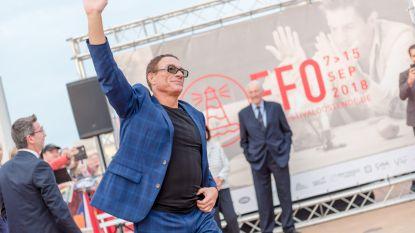 Jean-Claude Van Damme krijgt ster op Walk of Fame in Oostende