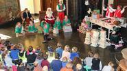 Kerstman nu al in Kasteel de Merode