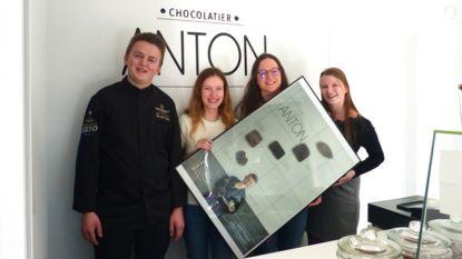 Studentes promoten chocolatier Anton op handelsmissie