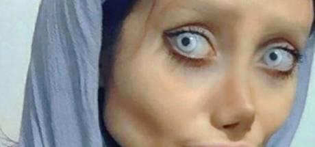 Iraanse lookalike van Angelina Jolie opgepakt wegens godslastering