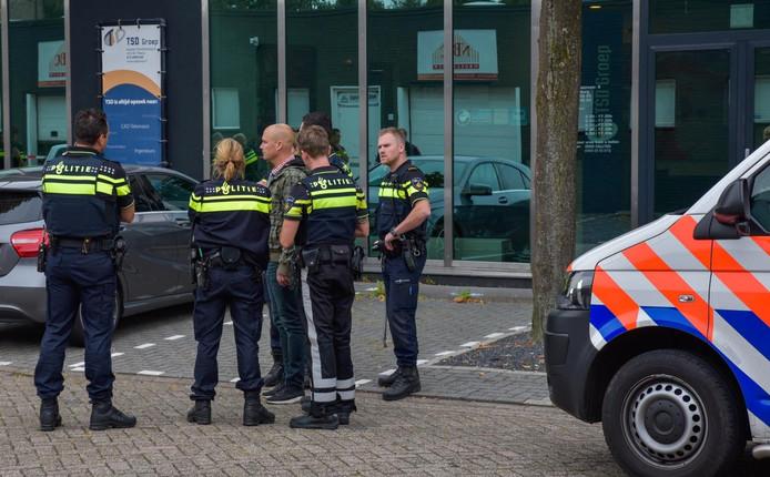 De overvallers werden meteen door de politie ingerekend.