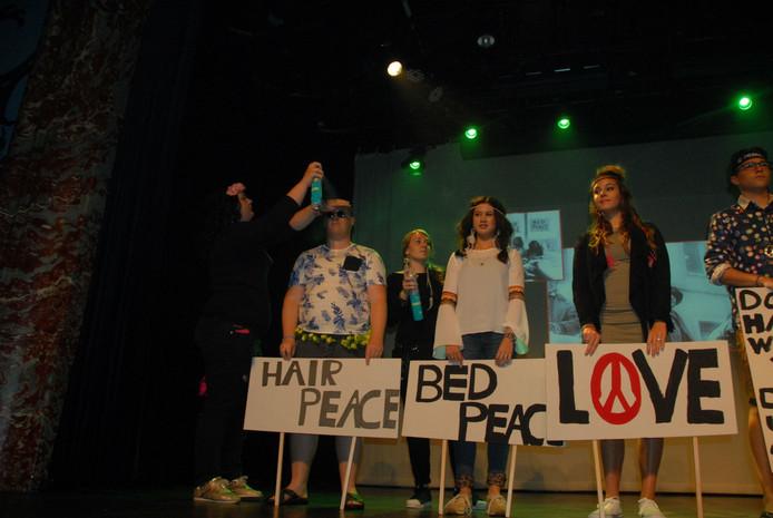 De winnende groep Bohemian Hippie.