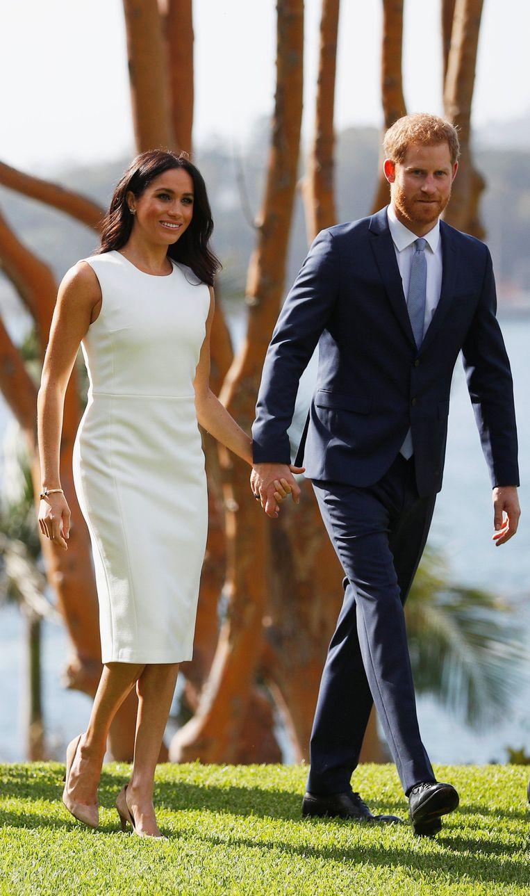 Meghan Markle en prins Harry in Sydney