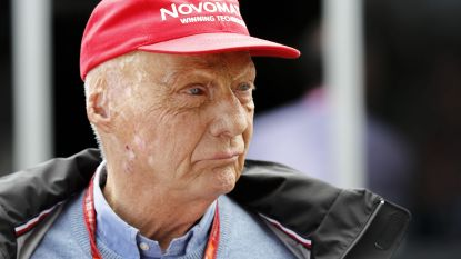"""F1-legende Niki Lauda ondergaat longtransplantatie, toestand """"zeer ernstig"""""""