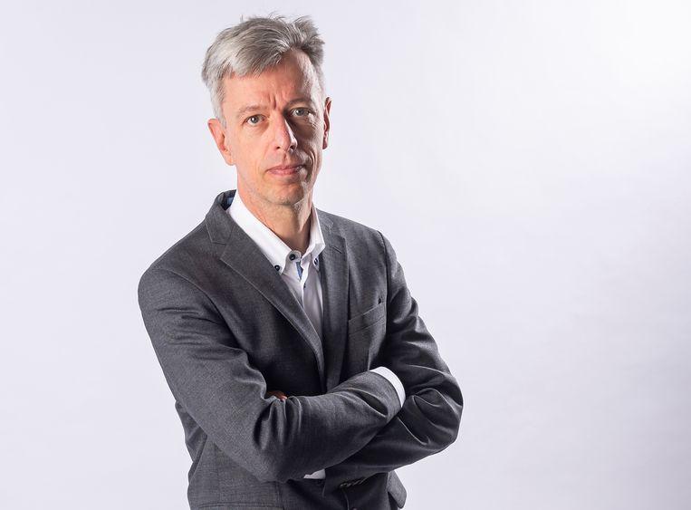 Geert Noels: 'De overheid staat al klaar om ons appeltje voor de dorst te schillen.' Beeld Gregory Van Gansen / Photo News