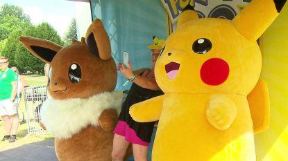 Duizenden spelers van Pokémon Go verzamelen in Duitsland