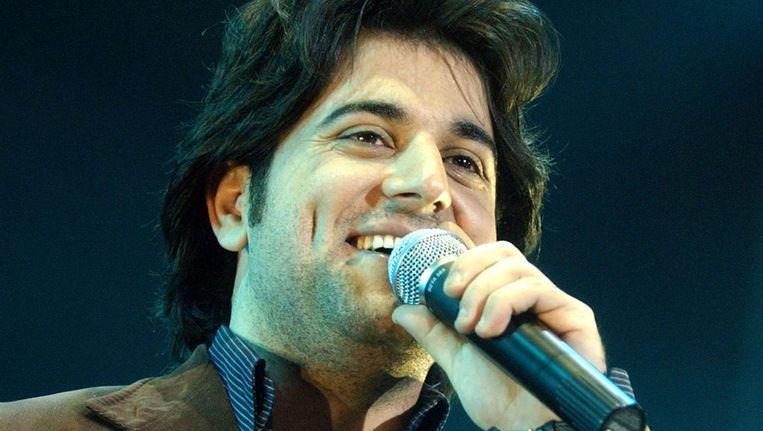 De zanger deed in 2005 mee aan het Libanese Idols, Superstar. Beeld ANP