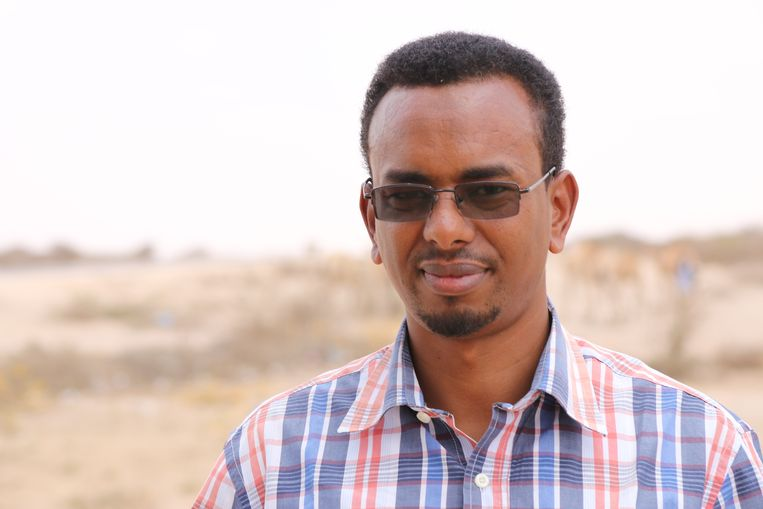 Mustafa Ahmed, medewerker Action Aid Beeld RV
