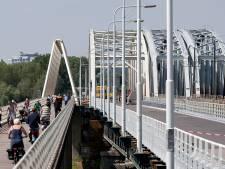 Westervoortse brug lijkt afgesloten, maar is dat niet