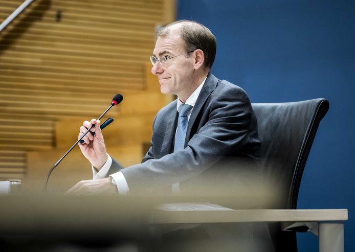 Menno Snel, staatssecretaris van Financiën 2017 tot 2019.