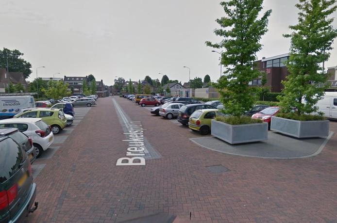 Het Breukelsplein in Boxtel is het grootste 'vrije' parkeerterrein aan de rand van Boxtel.