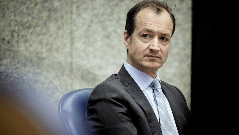 Staatssecretaris Eric Wiebes van Financiën heeft een meerderheid van de Tweede Kamer achter zich in zijn strijd om geheimhouding. Beeld null