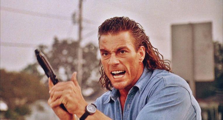 Jean-Claude van Damme in 'Hard Target'. Beeld