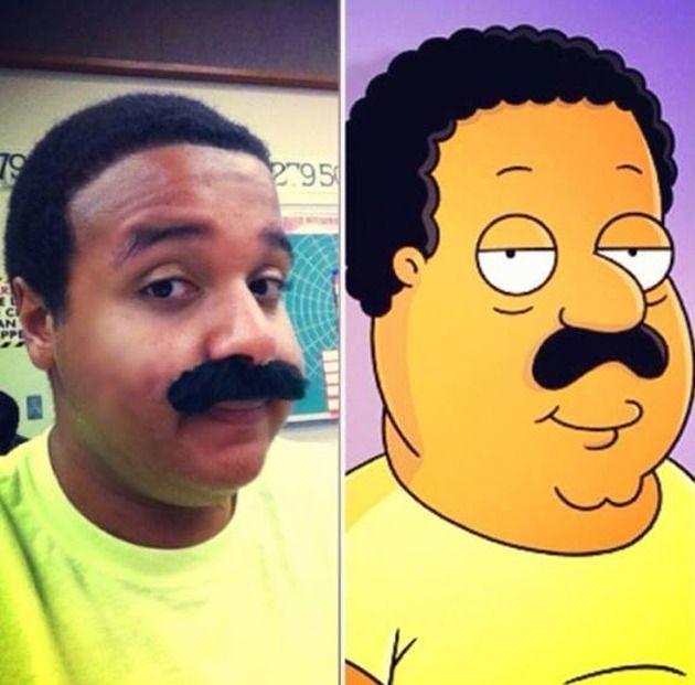 Cleveland Brown uit 'Family Guy' en 'The Cleveland Show'