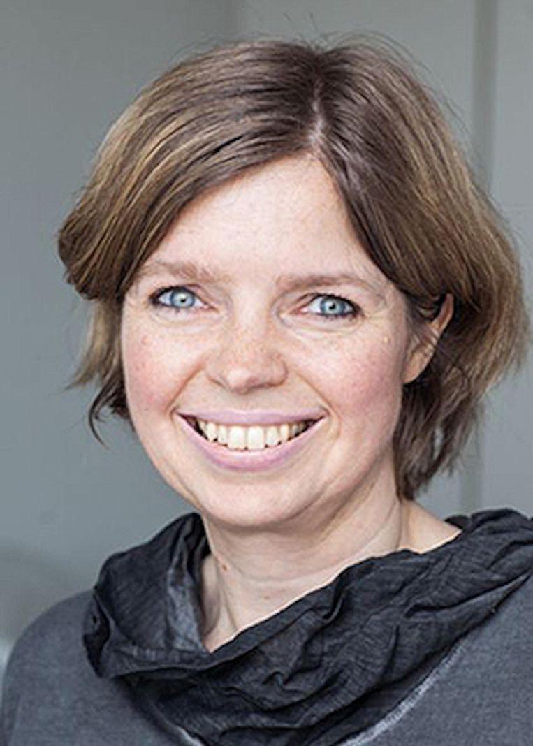 Katja Happe (1970), onderzoeker bij Niod sinds 2001, studeerde onder meer geschiedenis in Groningen, geboren in Ziegenhain (Hessen) Beeld Ferdinand Schöningh