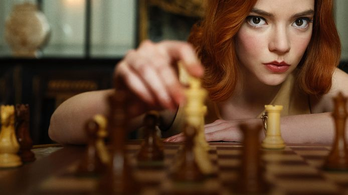 The Queen's Gambit breekt records op Netflix