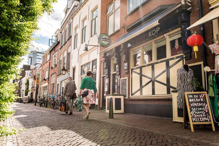 Café Domkop in Utrecht. Beeld Eva Faché