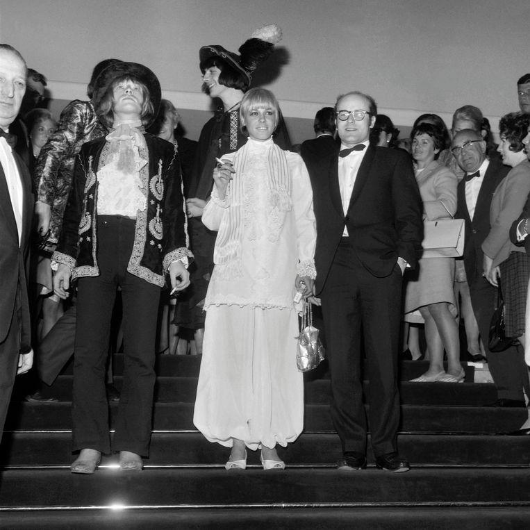Brian Jones en Anita Pallenberg.