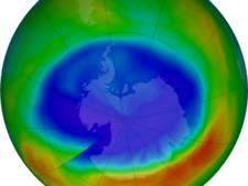 Het gat in de ozonlaag is het kleinst sinds 1988, maar dat komt niet door ons