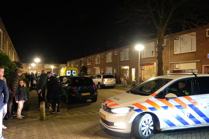 Het 16-jarige slachtoffer liep na de steekpartij naar zijn huis in de Prinses Margrietstraat in 's-Gravenzande.