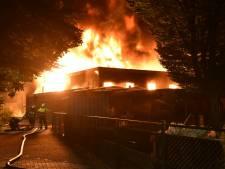 Grote brand verwoest gymzaal in Boxmeer, tweede brand verderop